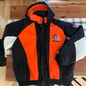 Cincinnati Bengals Starter Jacket VINTAGE Men's XL